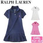 ラルフローレン / polo ralph lauren キッズ 半袖 プリーツ ワンピース ベビー スカート 女の子