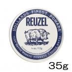 ルーゾー クレイマットポマード 35g(REUZEL CLAY MATTE POMADE)水性:ストロングホールド、マット