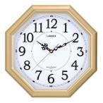 ショッピング壁掛け 送料無料 5個で1個おまけ「八角電波掛け時計 金閣 壁掛け時計 ウォールクロック 時計 八角形 電波時計」 os