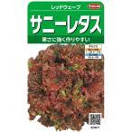 サカタのタネ 実咲野菜3671 サニーレタス レッドウェーブ 00923671