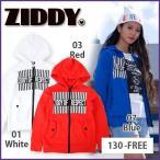 【ZIDDY/ジディー】ロゴ裏毛パーカー/130-FREE