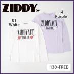 【ZIDDY/ジディー】ガーゼスムースハイネック長袖Tシャツ/130-FREE