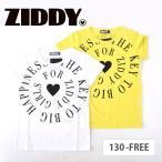 【D-5】【ZIDDY/ジディー】天竺 ロゴプリント Tシャツ 女の子 キッズ 子供服 bebe ベベ【ゆうパケット対応】◆1740