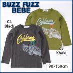 【BUZZ FUZZ BEBE/バズファズ べべ】クルマプリント天竺Tシャツ/90-150cm