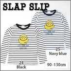 【ネット・アウトレット限定】【SLAP SLIP/スラップスリップ】eくんプリント天竺ボーダーTシャツ/90-130cm