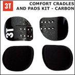 3TCOMFORT CRADLES AND PADS KIT CARBON