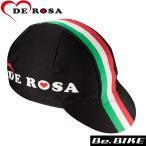 DE ROSA(デローザ) 439 ITALIAN FLAG ブラック F 自転車 サイクルキャップ