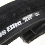 パナレーサー タイヤ エリート プラス 650x23C ブラック 自転車