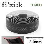 fi'zi:k フィジーク  ブラック Tempo マイクロテックスボンドカッシュ クラシック (3mm厚) 自転車 バーテープ ロードバイク