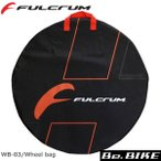 フルクラム(FULCRUM) ホイールバッグ [WB-03] Wheel bag ホイールバック [ブラック] ロード