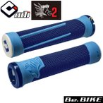 ODI AG2 V2.1 ロックオングリップ  ブルー/ブルー 自転車 グリップ