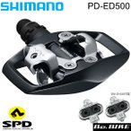シマノ PD-ED500 両面SPD EPDED500  shimano SPDペダル  左右セット ロードツーリング