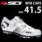 SIDI MTBケープ WHT/WHT 41.5 自転車 シューズ ビンディング