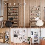 ショッピング安い 安い 収納家具 日本製 突っ張り棚 薄型オープンラック Dorgo