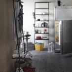 DUENDE棚ラック(ダークグレイ)壁面収納家具