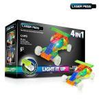 レゴ ブロック レーザーペグ LEDで光るブロック 51ピース CARS (カーズ) おもちゃ