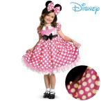 ショッピングミニー ディズニー ミニーマウス GROW コスチューム ドレス ハロウィン キッズ 子供 女の子 仮装 コスプレ ワンピース カチューシャ セット