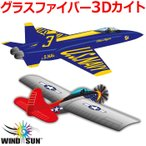 凧 凧揚げ カイト 飛行機 ジェット機 戦闘機 凧あげ お正月 おもちゃ 子供 3Dナイロン 立体 ウィンドフォースシリーズ