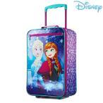 ディズニー キャリーバッグ ソフト アナと雪の女王 スーツケース キャリーケース 子供 女の子 キッズ グッズ トランクの画像