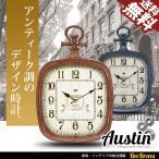 ショッピング壁掛け 壁掛け時計 アンティーク ウォールクロック 全2色 レトロ ヴィンテージ