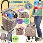 ショッピングカート 折りたたみ 保冷機能付き ショッピングキャリーカート 折り畳み式  シャルミス CHARMISS 15-5008
