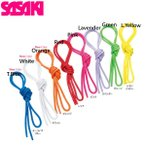 SASAKI/ササキ ジュニアカラーポリエステルロープ MJ240 体操 新体操 ジュニア ロープ 手具