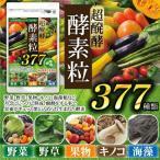 酵素 サプリ (大容量約6ヵ月分/360粒)サプリメント 野草酵素 送料無料  酵素粒377 お得 お買い得 ダイエット