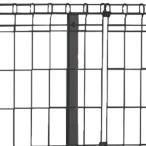 スチールメッシュフェンス【自由支柱タイプ】自由支柱(高1200用)※NP1F専用オプション品※