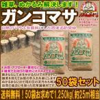 雑草防止防草対策に.水をかけるだけで.固まる土「ガンコマサ」50袋セット(25平米相当)