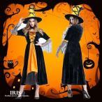 ハロウィン 魔女 衣装 変装 妖精 レディース コスプレ衣装 ワンピース ドレス ロング 仮装 女の子 ブラック 大人用 S/M/L/XL