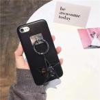 黒い星 iphone7 iphone7PLUSケーススター 星 アクセサリー付き iPhone6/6s/6S PLUS レザーケース きらきら お洒落 かわいい