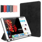 ペンホルダー付き 2019 新型 iPad 10.2インチ iPad Air3 mini5 mini4 ケース 薄型 iPad 9.7 10.5インチ アイパッド エア3 ミニ5 カバー オートスリープ