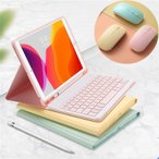 かわいい アイパッド 2020 iPadPro11 iPad 10.2 Pro 9.7 10.5 11 インチ キーボード ケース ペンホルダー付き iPad 7 6 5 Air 3 キーボード付き カバー 分離式