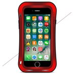 iPhone8 iPhone7plus メタルケース 耐衝撃 防塵  iPhone8プラス アルミケース 強靭タフケース 金属合金 LOVEMEI新作