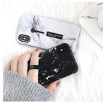 落下防止スライドフィンガーベルト付き iPhone X iPhone8 iPhone7 iPhone6s Plus ケース カバー スタンド付き アイフォンケース 黒 白
