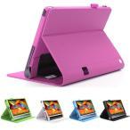 ハンドベルト付き Lenovo Yoga Tab 3 10.1インチ 手帳型レザーケース スタンド カバー 薄型 軽量 ハンドストラップ付き レノボ YOGA Tab3タブレット 保護 ケース
