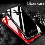 HUAWEI Mate10 Pro ガラスケース アルミバンパー Glass 強化ガラス HUAWEI Mate10 アルミケース カバー カラフル