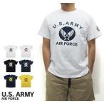 ショッピングエアフォース U.S. ARMY  ユーエスアーミー  半袖 Tシャツ U.S. AIR FORCE ユーエスエアフォース (メール便対応)