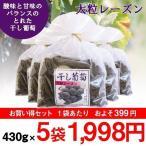 巨峰の郷 (大粒レーズン) 430g 5袋セット8-0031大粒 ほしぶどう ドライフルーツ レーズン 干しぶどう 食品 フルーツ 果物