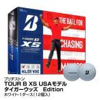 ゴルフボール BRIDGESTONE ブリヂストン TOUR B XS USAモデル タイガーウッズ Edition 1ダース 12個入 ホワイト_0760778087688_91
