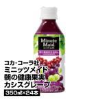 果汁飲料 コカ・コーラ社 ミニッツメイド 朝の健康果実 カシスグレープ 350ml×24_4902102056946_74