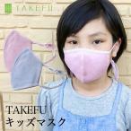 マスク 子供用 TAKEFU 竹布キッズ マスク (メール便使用)