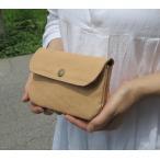 長財布 ふんわり2層のハンドメイド財布 手作り鞄 革/大きな財布/Beko