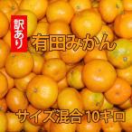訳あり 和歌山県産 有田みかん サイズ混合(SML) 10kg ありだみかん 家庭用