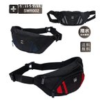swisswin  ショルダーバッグ スイスウイン ボディバッグ ウエストバッグ メンズ ヨコ型 薄型 レディース ウエストバッグ 8L