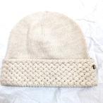 ショッピングヘレンカミンスキー 新品 ヘレンカミンスキー ニット帽 ウール100% HELEN KAMINSKI  帽子 ベージュ