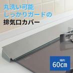排気口カバー 幅約60cm コンロ用 日本製 燕三条 コンパクト ステンレス製 ガスコンロ 排気口 シンプル キッチン 汚れ防止 油はね