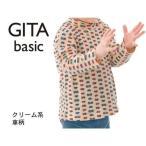 ジータ/GITA basic フライスハイネックTシャツ 「70〜100」