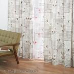 ディズニー ミッキーマウスフォントのカーテン 約100×200(2枚)