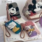 ディズニー サガラ刺繍スマホポーチ ネット限定カラーあり